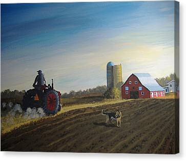 Done For The Day Canvas Print by Norm Starks