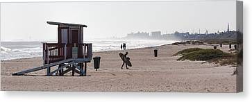 Done Surfing Canvas Print by Ed Gleichman