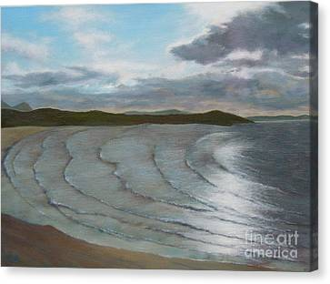 Donegal's Shimmering Sea Canvas Print