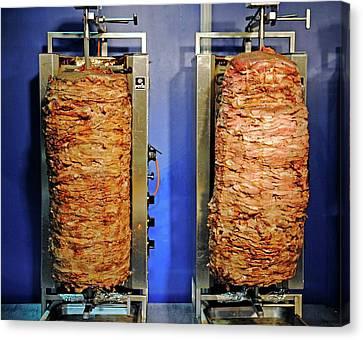 Doner Kebabs Canvas Print by Bildagentur-online/mcphoto-schulz