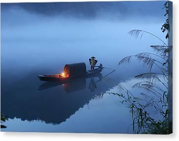Dong Jiang Lake Canvas Print