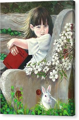 Donna Renee Mc Cann As Alice Canvas Print by JoAnne Castelli-Castor