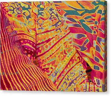 Donning Joy Canvas Print by CR Leyland