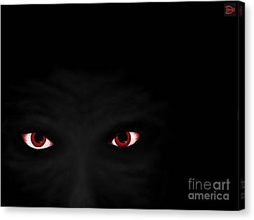 Don't Be Afraid Of The Dark Canvas Print by Andy Heavens