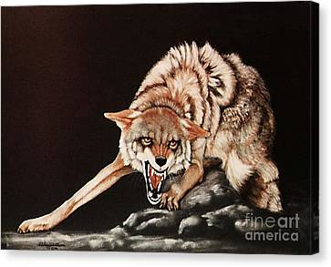 Dont Mess With Me Canvas Print by DiDi Higginbotham