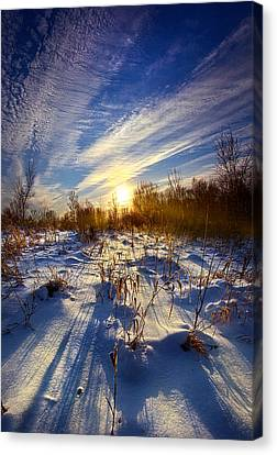 Don't Stop Believin' Canvas Print by Phil Koch