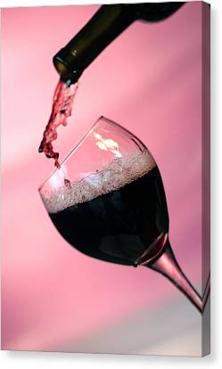 Dont Whine Over Spilled Wine Canvas Print by Michael Ledray