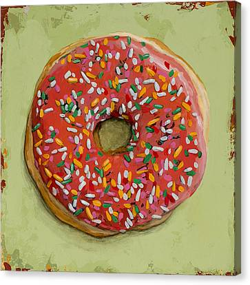 Donut #1 Canvas Print by David Palmer