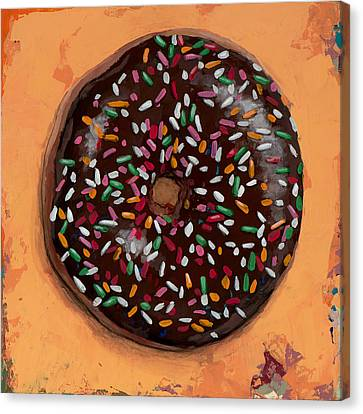 Donut #2 Canvas Print by David Palmer