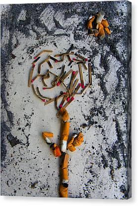 Doomed Love By Darryl Kravitz Canvas Print by Darryl  Kravitz