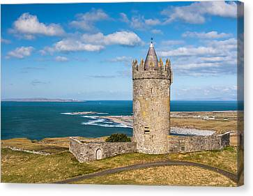 Doonagore Round Tower Ireland Canvas Print by Pierre Leclerc Photography
