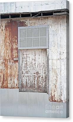 Canvas Print featuring the photograph Door 2 by Minnie Lippiatt