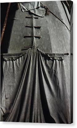 Canvas Print featuring the photograph Door by Ben Kotyuk