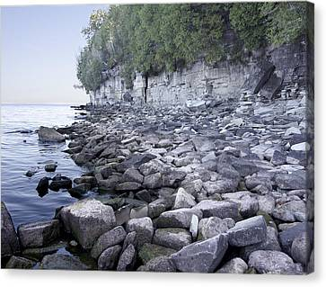 Door Bluff Headlands Cp Canvas Print by Jim Baker