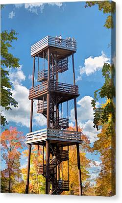 Door County Eagle Tower Peninsula State Park Canvas Print by Christopher Arndt