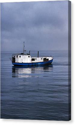Trawler Canvas Print - Door County Gills Rock Trawler by Christopher Arndt