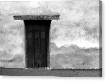 Door Canvas Print by Joey  Maganini