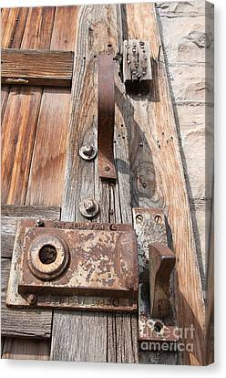 Door Knob Canvas Print