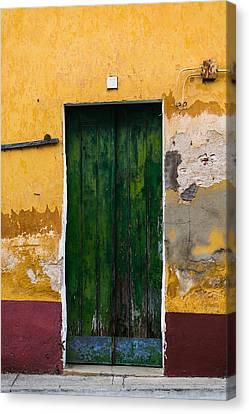 Door No 42 Canvas Print by Marco Oliveira