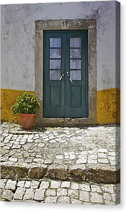 Door Number Nineteen Canvas Print by David Letts