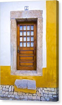 Door Number Two Canvas Print by David Letts