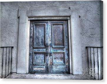 Door Number Two Canvas Print by Rob Andrus