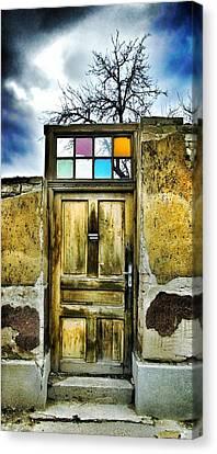 Door Of Lost Dreams Canvas Print by Marianna Mills