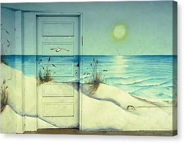 Door Of Perception Canvas Print