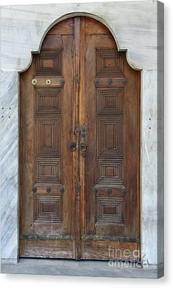 Door Of The Topkapi Palace - Istanbul Canvas Print