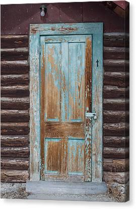 Door One Canvas Print by Fran Riley