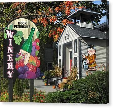 Door Peninsula Winery Canvas Print