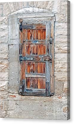 Door Series Canvas Print by Minnie Lippiatt