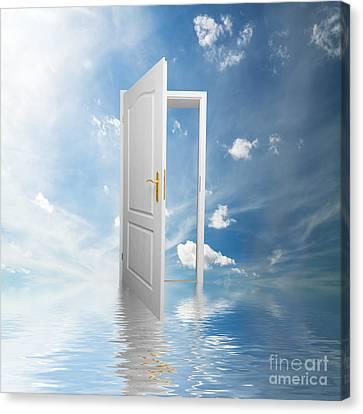 Door To Heaven  Canvas Print by Michal Bednarek