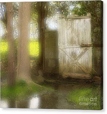 Door To Other Realms Canvas Print by Inspired Nature Photography Fine Art Photography