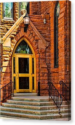 Door To Sanctuary Series Image 1 Of 4 Canvas Print
