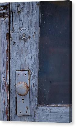 Canvas Print featuring the photograph Door To The Past by Randy Pollard