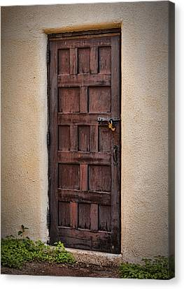 Door To Your Id ...  Canvas Print by Chuck Caramella