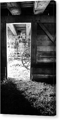 Doorway Through Time Canvas Print by Daniel Thompson