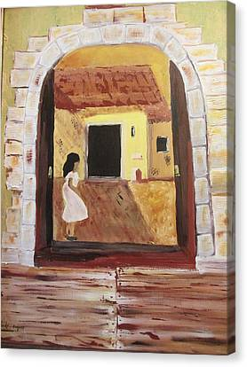 Door Within Canvas Print