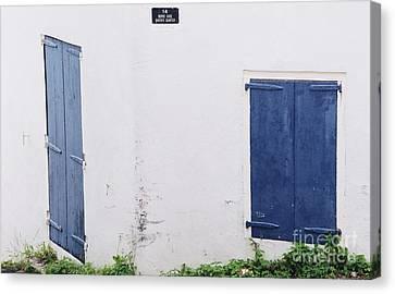 Doors In St. Thomas # 2 Canvas Print