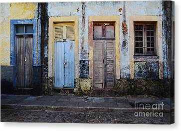 Doors Of Alcantara Brazil 1 Canvas Print by Bob Christopher