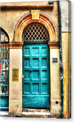 Doors Of Old Lyon Canvas Print by Mel Steinhauer