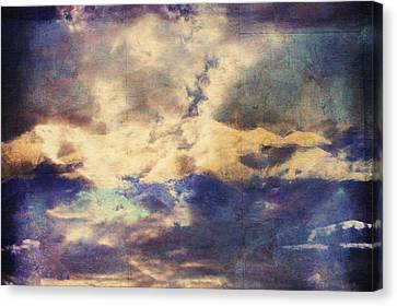 Sky Scape Canvas Print - Doors To Another World Abstract by Georgiana Romanovna