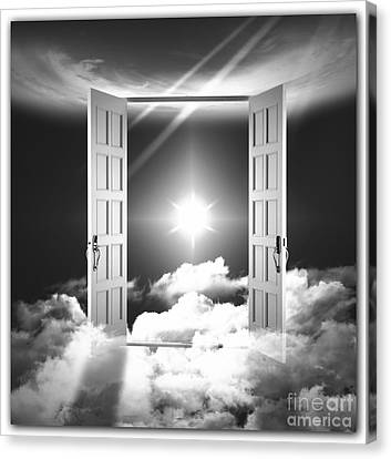 Doors To Paradise Canvas Print by Stefano Senise