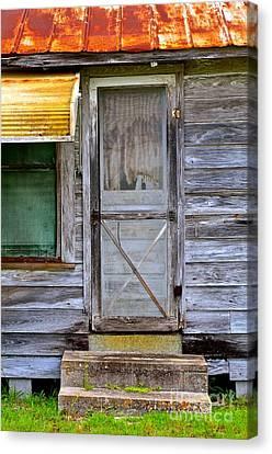 Doorway Into The Past Canvas Print