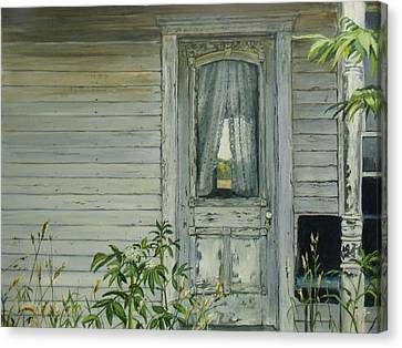 Doorway Canvas Print