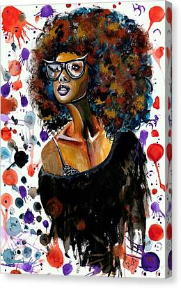 Dope Chic Canvas Print by RiA RiA