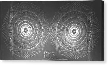 Doppler Effect Parallel Universes Canvas Print