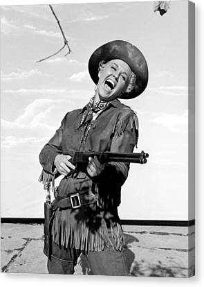 Doris Day In Calamity Jane  Canvas Print by Silver Screen