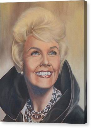 Doris Day Canvas Print by Mark Robinson